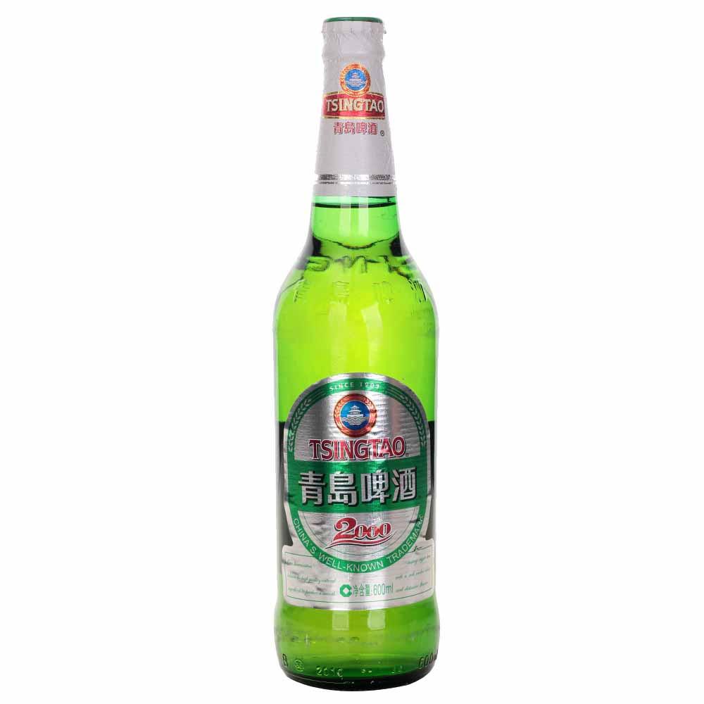 青岛啤酒2000 (瓶) 瓶 600ml*12/箱